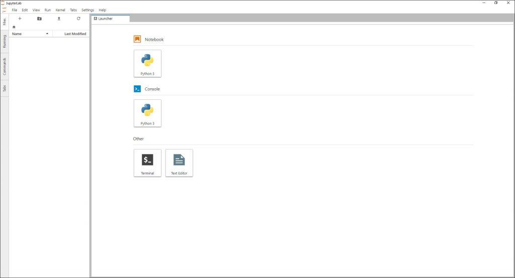 Jupyter lab as a desktop application